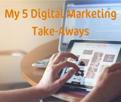 5 Digital Marketing Take-Aways from my #MumsTakeOnBusiness Campaign