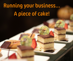 Make running your business a piece of cake