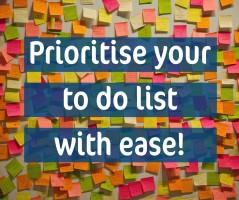 Prioritise your tasks by thinking INSIDE the box