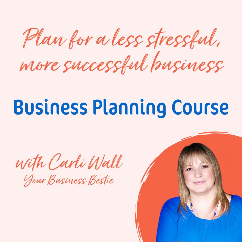 Business Planning Course details